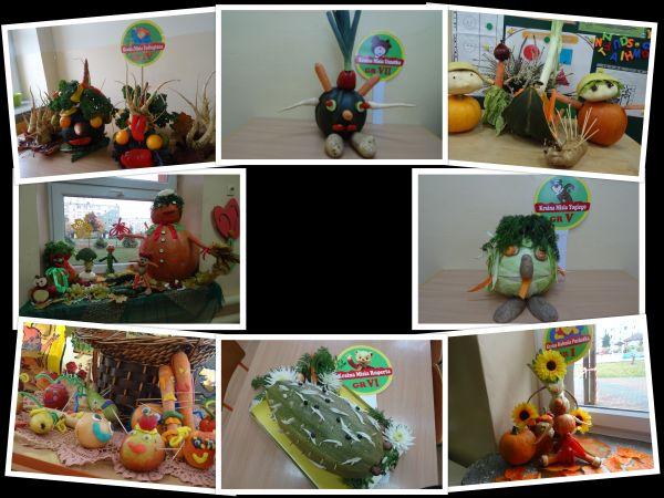 """""""Owocowo – warzywne stworki"""" – kreatywne działanie dzieci z wykorzystaniem owoców i warzyw"""